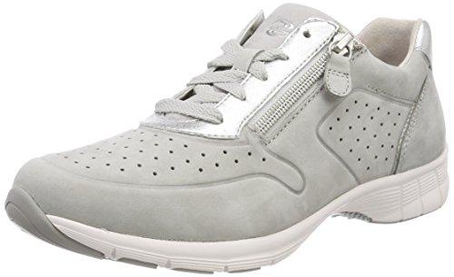 Mujer ice Zapatos Gabor Cordones Para Shoes hellgrau Gris De Derby Sport UAwxxBFq0