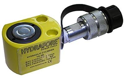 "5 tons 0.28"" stroke Hydraulic cylinder lifting jack ram low height 10000 PSI YG-5B"
