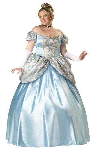 InCharacter Costumes Women's Enchanting Princess Plus Size Costume, Blue, XX-Large