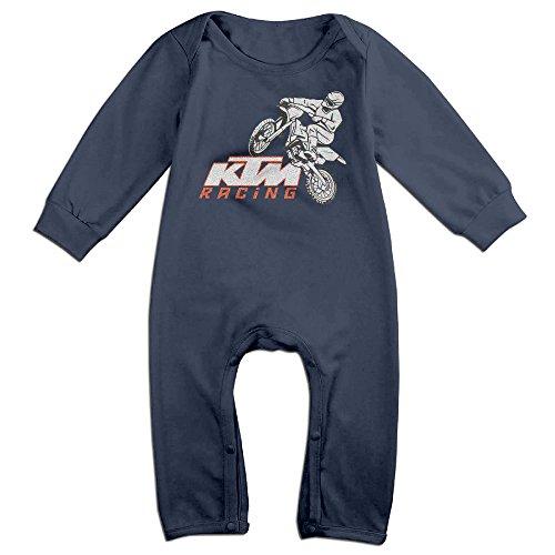 KTM Racing Motor Kids 100% Cotton Bodysuits Overall