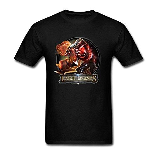 Oryxs Men's Battlecast ChoGath T-Shirt L Black