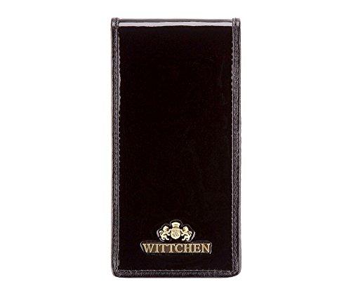 WITTCHEN caso, Nero, Dimensione: 13.5x7 cm - Materiale: Pelle verniciata - 25-2-170-1