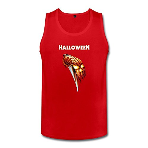 DASYmenHalloween Night He Came Home Tank TopSmall Red ()