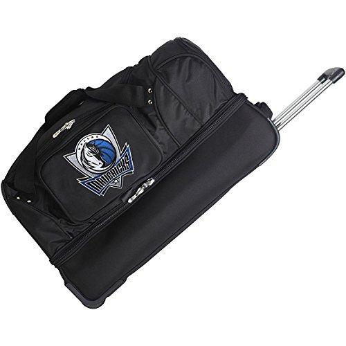 DENCO DALLAS MAVERICKS 27'' 2-WHEELED DROP BOTTOM DUFFEL by Denco Luggage 1048749
