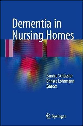 Dementia in Nursing Homes