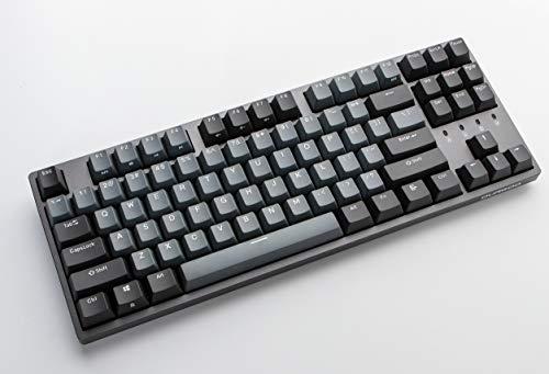 Durgod Taurus K320 TKL Mechanical Gaming Keyboard - 87 Keys - Double Shot PBT - NKRO - USB Type C (Cherry Speed Silver, Space Grey)