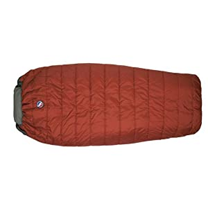 Big Agnes Buffalo Park 40 (Thermolite Extra) Sleeping Bag, Wide Long, Apricot