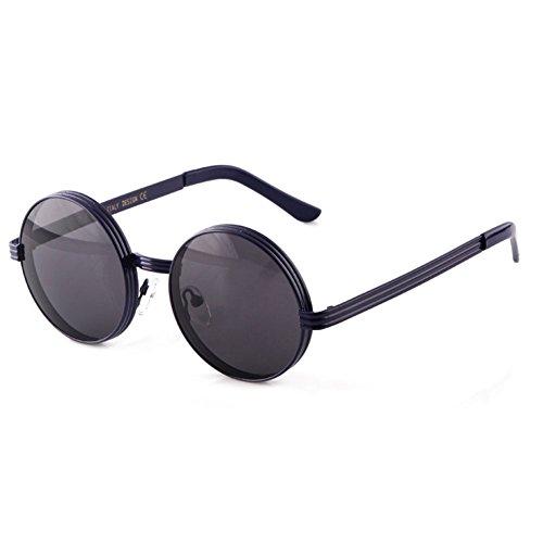 Negras 5 Gafas Femeninas de de de Grandes y Sol Color 4 Redondas Sol Redondas Sol DT Gafas Gafas Redondas CTqwRxPPH
