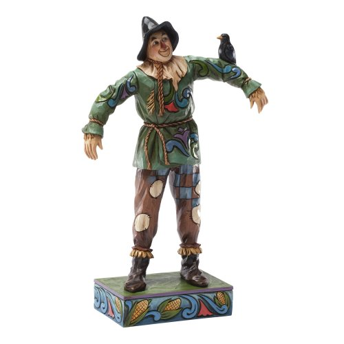 Enesco Jim Shore Wizard of Oz Scarecrow Figurine, ()