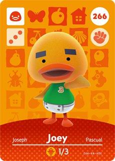 Joey Nintendo Animal Crossing Designer Amiibo