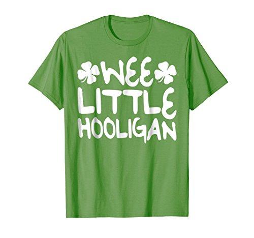Wee Little Hooligan T-Shirt Saint Patrick Day Gift Shirt
