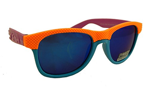Messori Kinder Polarized Wayfarer-Style Sonnenbrille verspiegelt Multicolor, Prius FB901-VOB