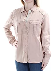 Free People Womens Off Campus Button Down Shirt