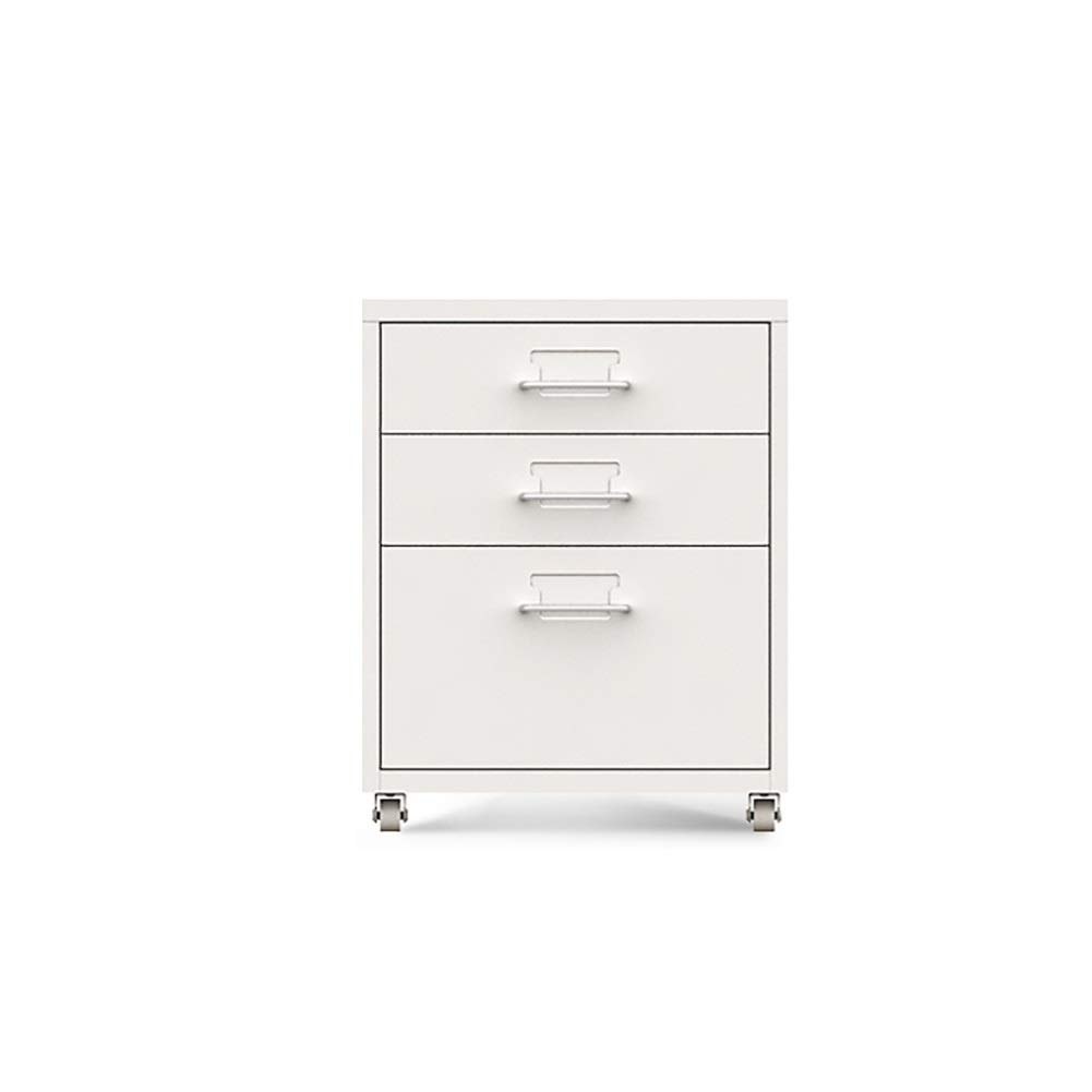 RRH-File Cabinet, 6-Layer Drawer Type Mobile Storage File Cabinet, Metal Metal Storage Cabinet, Data File Cabinet, Commercial Vertical File Cabinet, Used for Office, Study, Family by RRH