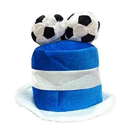 ea545ec37ce HATCHMATIC Football Hat Party Headgear Cap Fans Cheer Leading Champ for  World Cup Russia 2018  35 13W  F  Amazon.in  Toys   Games