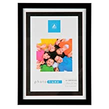 Black Modern Contemporary Photo Picture Frame A4 Certificate