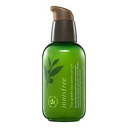 KOREAN COSMETICS, Innisfree, The green tea seed serum 80ml (water, nutrition, Essence, moisturizing - My Face Find Shape