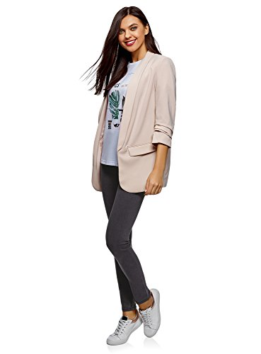 Basic Grigio Ultra 2300w Jeggings Donna Oodji 6RqwC
