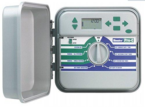 Hunter Beregnungscomputer, Pro-C Steuergerät, weiß, 20 x 25 x 10 cm