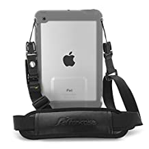 rooCASE Breakaway Clip Safety Shoulder Strap for LifeProof NUUD / FRE iPad Case, Break Away Strap Compatible with LifeProof Case for iPad Pro 9.7, iPad Air 2 1, iPad Mini 4, 3, 2, 1, Black