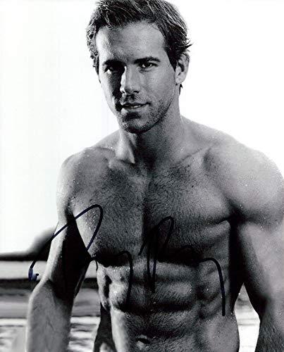 Ryan Reynolds signed 8x10 photo