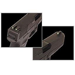 TRUGLO Tritium Handgun Sight Set - Ruger LC9/9S/380