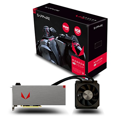 Sapphire Radeon RX VEGA 64 8GB HBM2 HDMI / TRIPLE DP LIQUID COOLING PCI-E Graphics Card 21275-00-40G