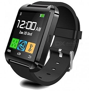 2a35f6c6cb8 Smart Watch Relogio Bluetooth Smartwatch U8  Amazon.com.br  Eletrônicos
