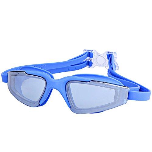 Zhou.Dream team Moda simple gafas de natación al vacío gafas ...