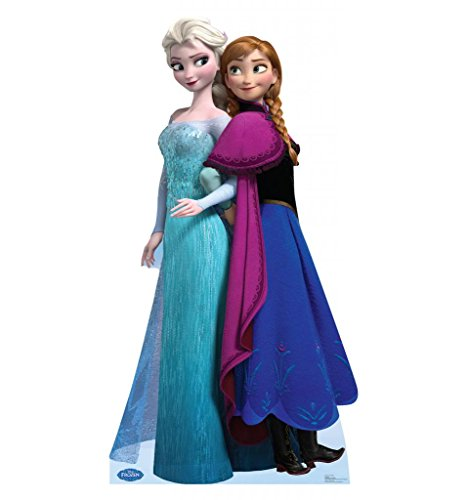 Elsa and Anna - Disney's Frozen - Advanced Graphics Life Size Cardboard (Life Size Princess Cutouts)
