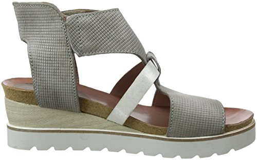Mjus Women's 221031-0101-0002 Ankle Strap Sandals Multicolour (Medusa+argento 0002) hZeg5To