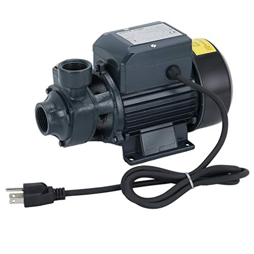 Submersible Water Pump,1/2HP Centrifugal Clear Clean Water Pump Electric Industrial Farm Pool Pond