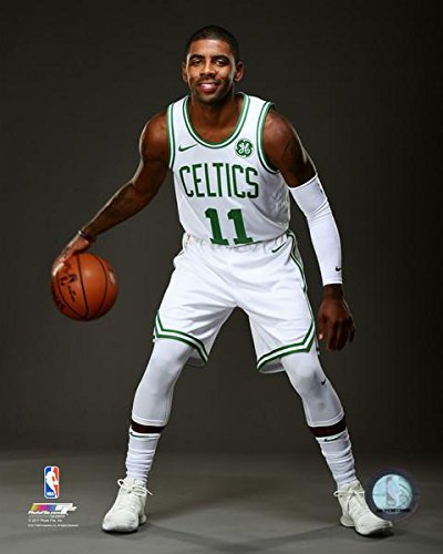 73b53fd097e0 Amazon.com  Kyrie Irving Boston Celtics 2017 NBA Studio Posed Photo (Size   8