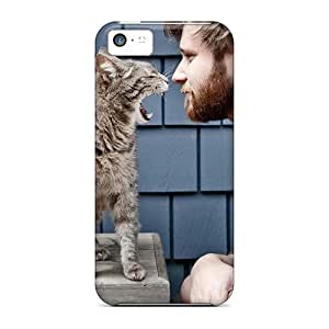 Slim Fit Protector Shock Absorbent Bumper Cat Boss Cases For Iphone 5c