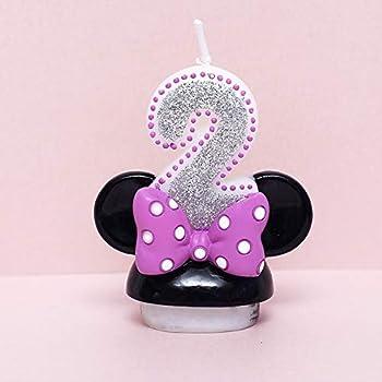 Amazon.com: CAF?? Disney Minnie Mouse 2 nd Vela de ...