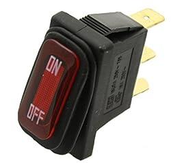 Razor Onoff Switch For Razor E100, E200, E300, Crazy Cart, Espark, Gf, Drifter, Dune Buggy