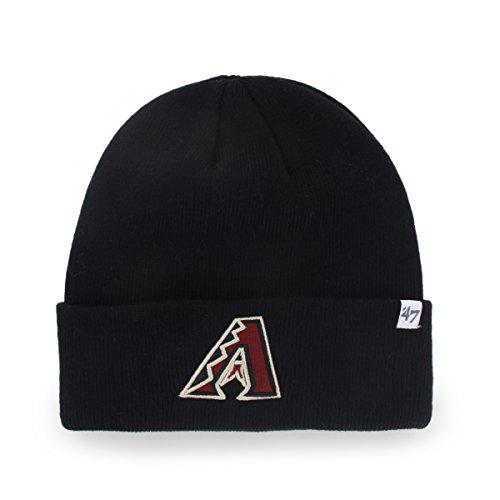 Black Diamond Diamond Beanie (Arizona Diamondbacks Black Cuff Beanie Hat - MLB Cuffed Winter Knit Toque Cap)