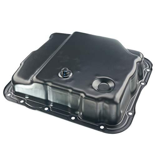 A-Premium Transmission Oil Pan for Buick Rainier 04-07 Cadillac Escalade Chevrolet C/K 1500 2500 Silverado 1500 2500 GMC Hummer Isuzu Saab