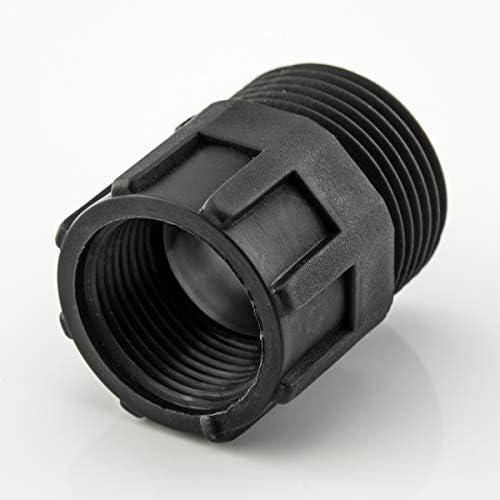 LST 5X Verbinder Kupplung Schraubsystem Reduzierstück Reduzierung PE-Rohr 3/4