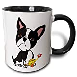 Best 3dRose Fathers - 3dRose mug 260973 4 Funny Cute Boston Terrier Review