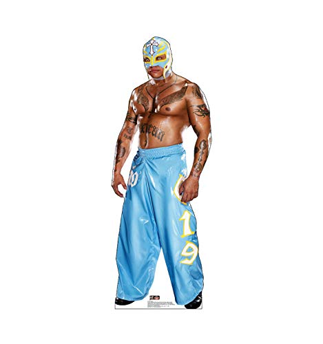 Advanced Graphics Rey Mysterio Life Size Cardboard Cutout Standup - WWE