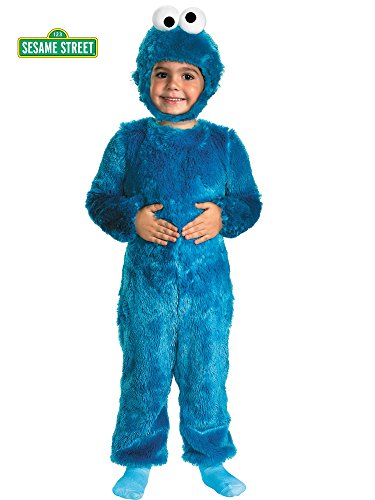 [Cookie Monster Comfy Fur Costume - Toddler Small] (Party City Toddler Girl Halloween Costumes)