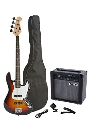 Amazon.com: Fever eléctrico de 4 Cuerdas Jazz Bass estilo ...