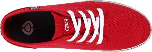 C1rca Mens Drifter Sneaker Pompeian Red / Midnight Navy