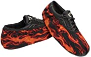 Master Industries Men's Bowling Shoe Cover, Flames, X-L