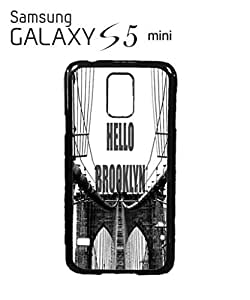 Hello Brooklyn New York Mobile Cell Phone Case Samsung Galaxy S5 Mini White