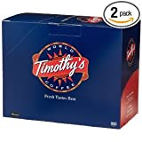 Timothy's World Coffee, Cinnamon Pastry, K-Cup Portion Pack for Keurig K-Cup Brewers 24-Count  (Pack of 2)