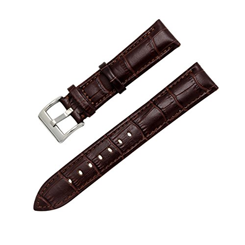MEGALITH Leather Watch Band Top Calf Grain Genuine Leather Watch Strap 16mm 18mm 20mm 22mm Bands for Men and Women by MEGALITH (Image #1)