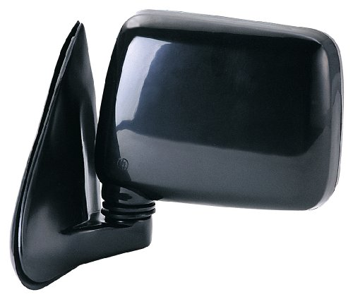 Rodeo Manual Mirror - Fit System 64008I Honda/Isuzu Driver Side Replacement OE Style Manual Folding Mirror