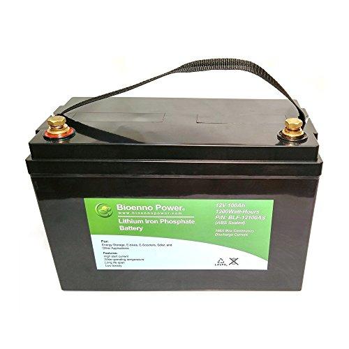 Bioenno Power 12V, 100Ah LFP Battery (ABS, BLF-12100AS)
